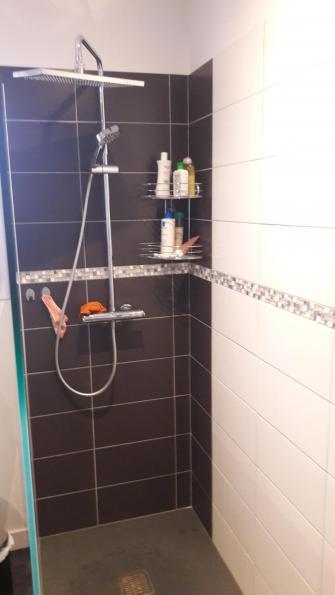 douche de salle de bain