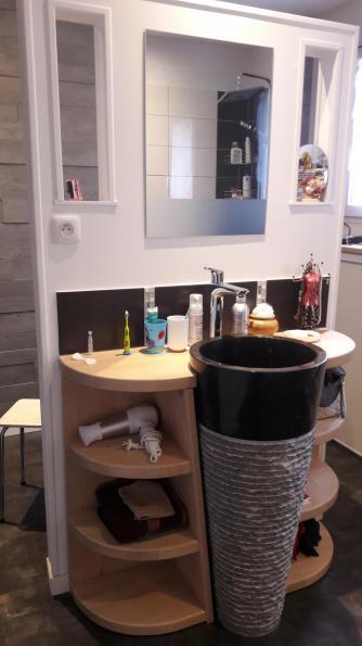 salle de bain design Bressuire