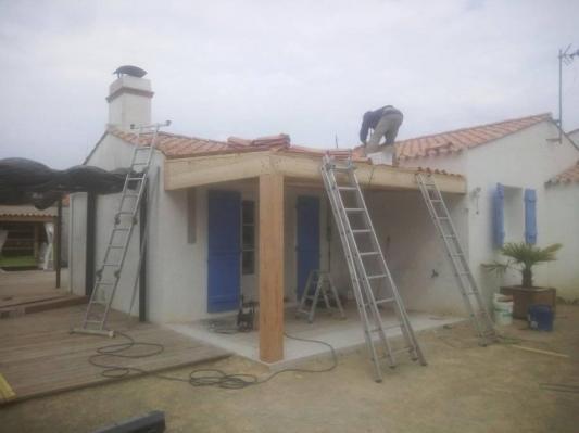 Fabrication d une veranda 2