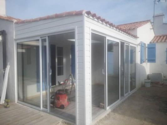 Fabrication d une veranda 3