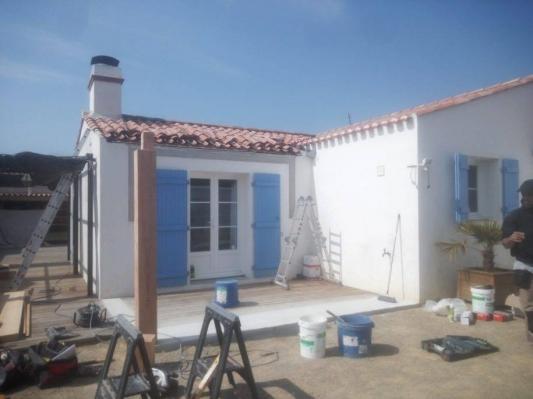 Fabrication d une veranda