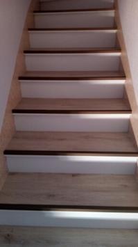 escalier après rénovation
