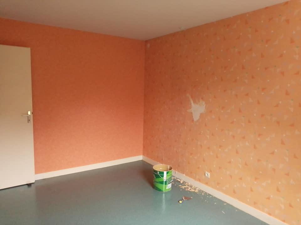 Renovation d une chambre avant